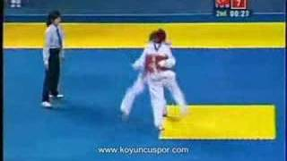 68kg Final Servet Tazegul (TUR) vs (MEX) Erick Osornio (2008 Good Luck Beijing)