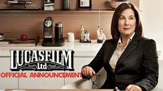 KATHLEEN KENNEDY FIRED OFFICIAL LUCASFILM ANNOUNCEMENT?