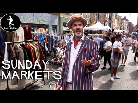 Brick Lane & Columbia Road - Lazy Sunday in London's East End Markets