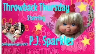 1988 P.j. Sparkles by Mattel Doll Review for Throwback Thursday✨