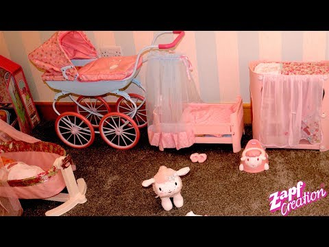Baby Annabell Sweet Dream Bed & Bedroom - Baby Born Baby Annabell Bedtime Routine & Nursery Rhymes
