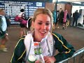Hockeyroos - Casey Eastham World Cup interview