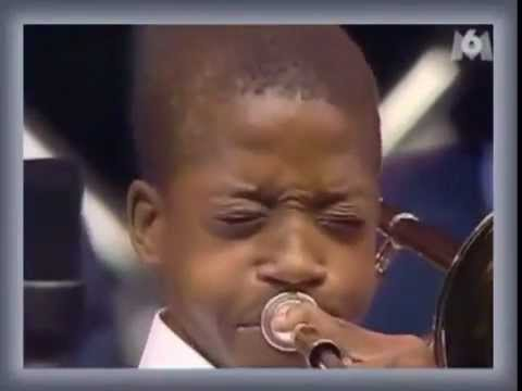 Trombone Shorty At Age 13 - 2nd Line Music Videos