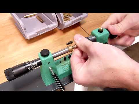 Redding 2400 Case Trimming Lathe Rifle Trimming (HD)