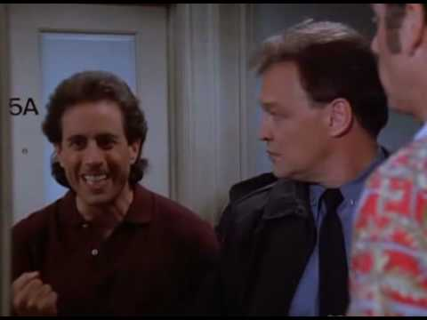 Seinfeld saying Newman!