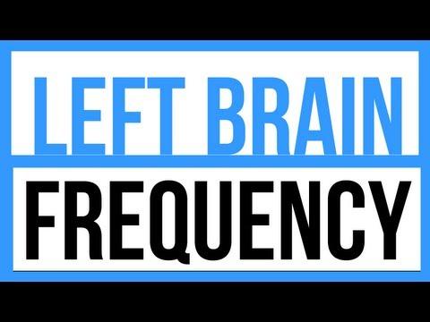 Left Brain Frequency - Pure Tone - Binaural Beats - ASMR - 3D