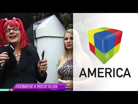 Rosita armó una choriceada en la puerta de la casa de Rocío Oliva