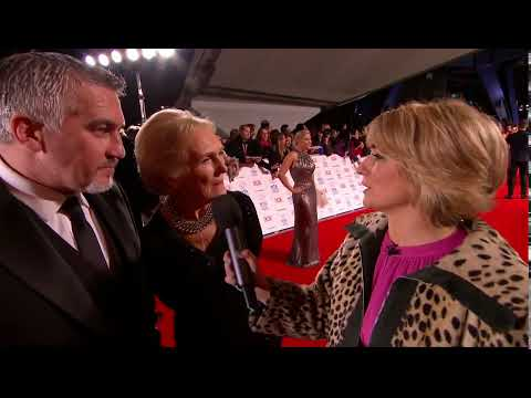 LIVE! National Television Awards 2014 red carpet!