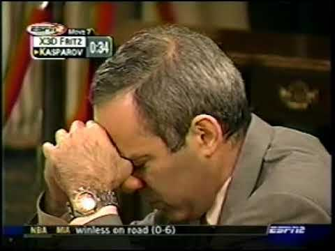 Kasparov vs X3D Fritz, Man vs Machine, Game 4 Part 1