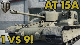 1 vs.....9! BRING IT ON! - WoT Console (Guest Replay)