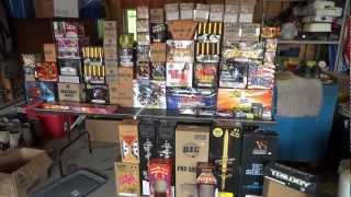 4th of July 2012 Firework Stash