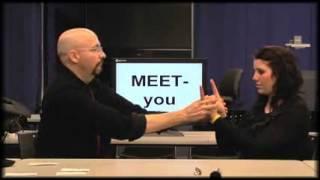 American Sign Language - ASL Lesson 01