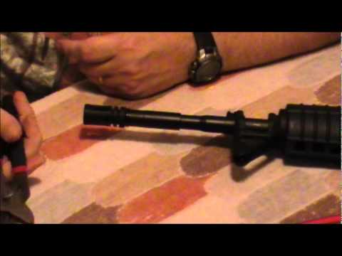 surefire muzzle brake installation instructions