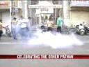 Baroda celebrates Yusuf Pathan's maiden 50
