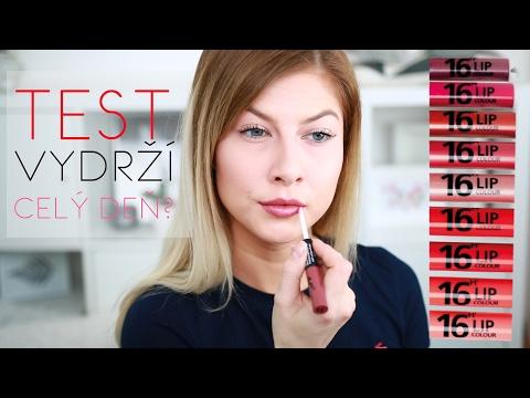 TEST Vydrží? 16H LIP COLOUR | Lenka