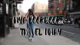 NYC LOOKBOOK & TRAVEL DIARY! Amanda Linh