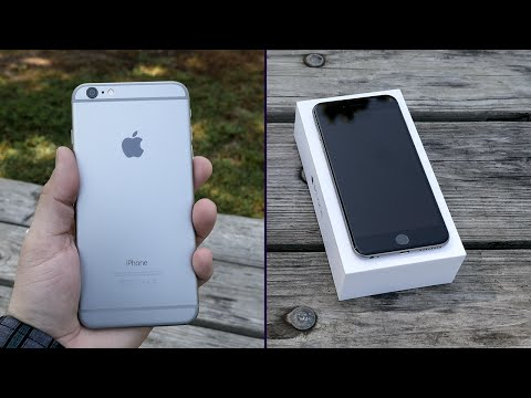 Apple iPhone 6 Plus Unboxing & First Impressions!
