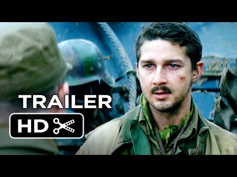 Fury TRAILER 1 (2014) - Brad Pitt, Logan Lerman WWII Movie HD