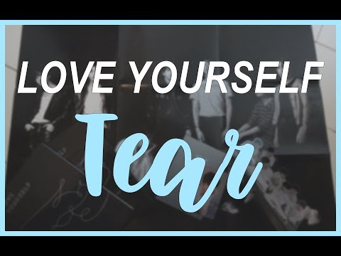 BTS LOVE YOURSELF ; TEAR | Unboxing & First Impression (DUTCH)