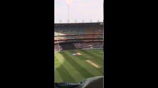 Rohit Sharma century moment India vs Bangladesh World Cup quarter Final Melbourne 2015