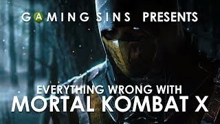 Everything Wrong With Mortal Kombat X In 7 Minutes Or Less | GamingSins