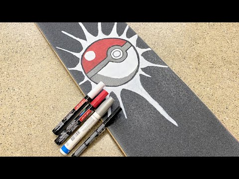 How To Paint Art On Your Skateboard (For Beginners)