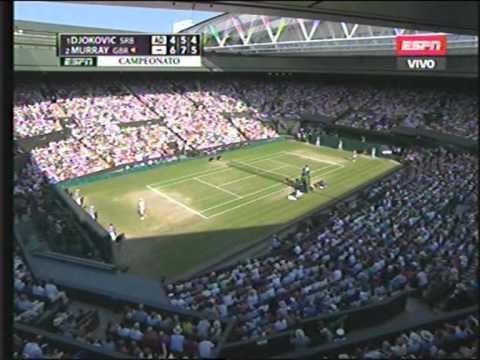 El ultimo Game de Andy Murray campeon en Wimbledon