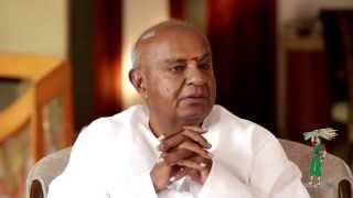 EX PrimeMinister Devegowda talks on A Krishnappa -Part1