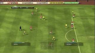FIFA 09 (PS3) CHAMPIONS LEAGUE FINAL MANCHESTER UNITED vs FC BARCELONA 2nd HALF
