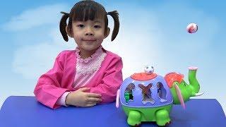 Đồ Chơi Con Voi Thổi Quả Bóng Vui Nhộn ❤ AnAn ToysReview TV ❤