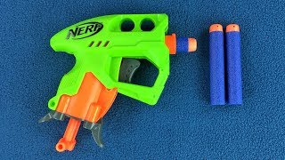 $5 Nerf Gun Review - Nerf N-Strike Elite NanoFire Blaster Dart Gun