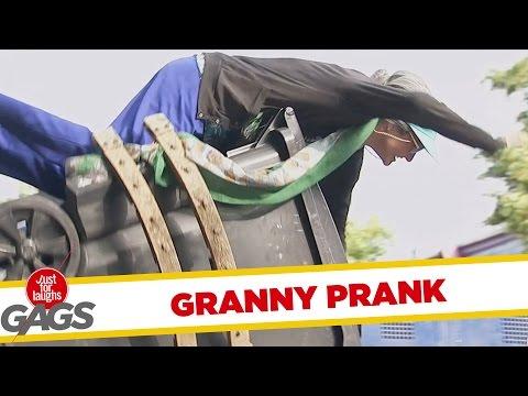 Garbage Prank - Szemetes trükk