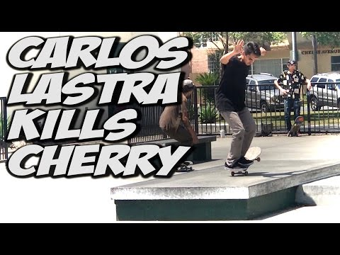 CARLOS LASTRA KILLS CHERRY PARK !!! - A DAY WITH NKA -