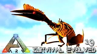 ARK: SURVIVAL EVOLVED - ANCIENT QUETZAL TAMING & EVO GIGA !!! E19 (MOD ARK ETERNAL CRYSTAL ISLES)