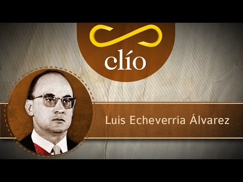 Minibiografía. Luis Echeverría Álvarez
