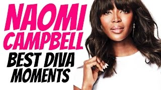 Naomi Campbell - Best Diva Moments