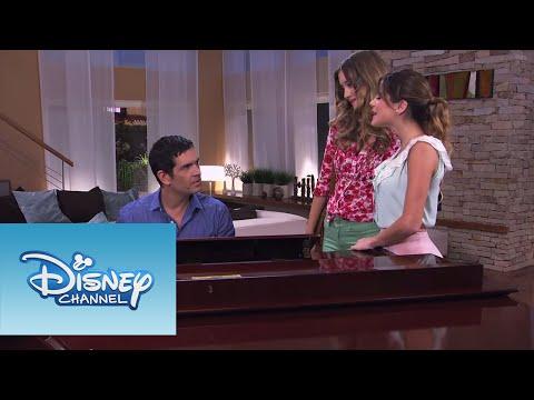 Violetta: Vilu, Germ án y Angie cantan ¨Algo Se Enciende¨ (Ep 66 Temp 2)