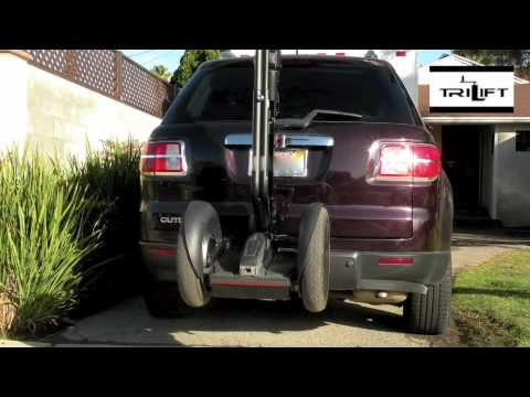 Segway i2 scooter Power Lift ramp Segway Carrier by Trilift