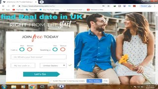 UK Online Dating - No Strings | Send a Free Message Now -Perfect Matching Date- Tutrial Video 2019