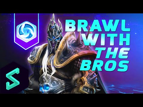 Heroes of the Storm Gameplay | Brawl With The Bros 2 | MFPallytime & Hengest | Heroes of the Storm