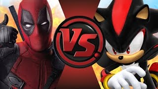 DEADPOOL vs SHADOW! Cartoon Fight Club Episode 66