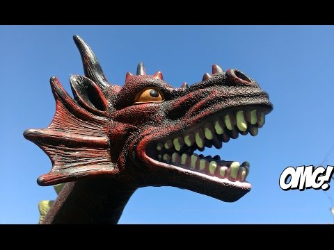 Big Dragon Toy  For Kids Review!Video For Childrens!