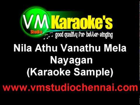 Nila Athu Vanathu Mela Karaoke video