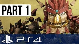 Knack Gameplay Walkthrough Part 1 - Chapter 1 and Intro!! (PS4 Gameplay 1080p HD)