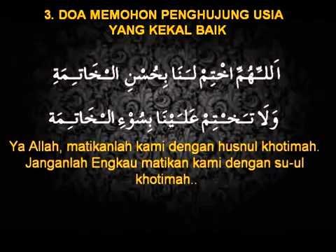 Jual doa setelah sholat fardhu