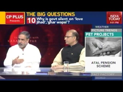 To The Point: Congress Vs BJP On Modi's 'Report Card'