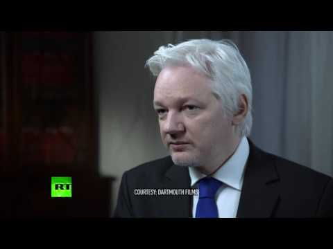 'Clinton & ISIS funded by same money' - Assange interview w/John Pilger (Courtesy Darthmouth Films)