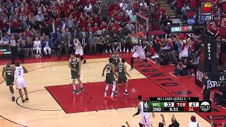 2nd Quarter, One Box Video: Toronto Raptors vs. Milwaukee Bucks
