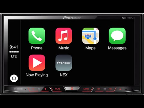 Apple CarPlay On a AVH-4000NEX