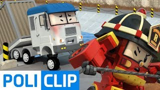 Please hang in there just a little longer! | Robocar Poli Rescue Clips